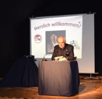 Lesung im Schlosskeller mit Charles Brauer am 26.05.2017